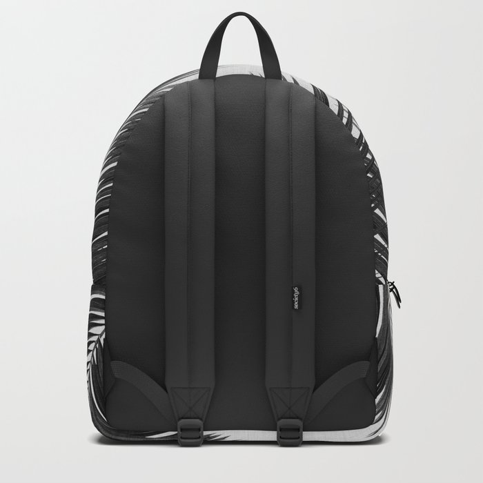 Palm Leaf Black & White II Rucksack