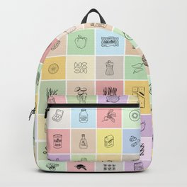 100 Days of Groceries Backpack