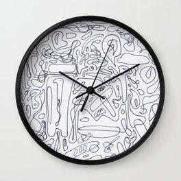 Art Maze Wall Clock