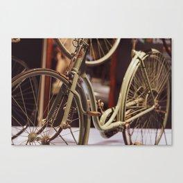 Vintage Bicycle. Canvas Print