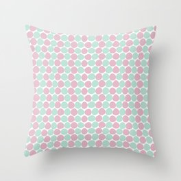 Bay Dots Throw Pillow