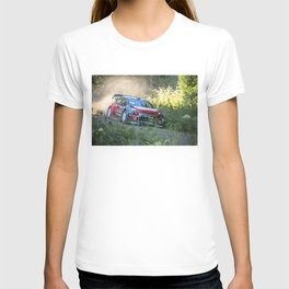 Rally car - Speed in nature T-shirt