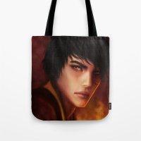 zuko Tote Bags featuring Zuko by jasric