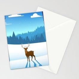 """""""Dances after dark"""" - Aspen, Colorado Stationery Cards"""