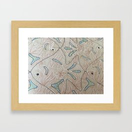 """Zentangle 03"" Framed Art Print"