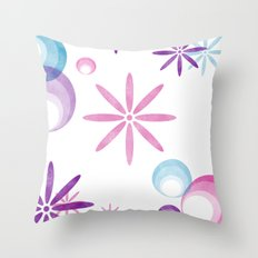 Groovy Chic Throw Pillow