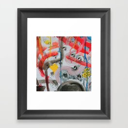 Urban vandals Framed Art Print