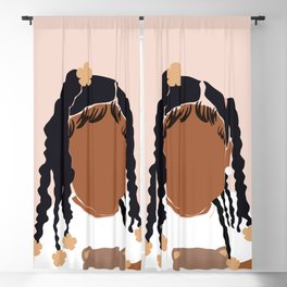 Baby Girl Blackout Curtain