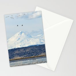 Mt Shasta and Waterfowl Stationery Cards