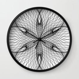 Sacred Geometry Flower - C11281 Wall Clock