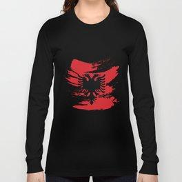 Albanian Eagle Gift Long Sleeve T-shirt