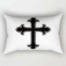 Christian cross Rectangular Pillow