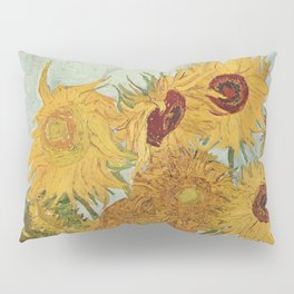 Still Life: Vase with Twelve Sunflowers Pillow Sham