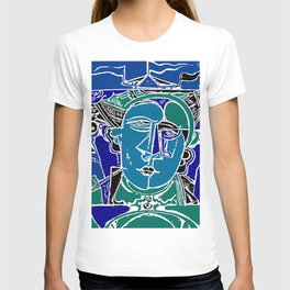 Blue Seaman T-shirt