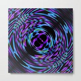 Rotating in Circles Series 04 Metal Print