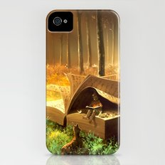 A safe place where you can go iPhone (4, 4s) Slim Case