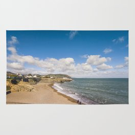 Irish sunny beach Rug