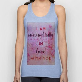 In love with you Unisex Tank Top