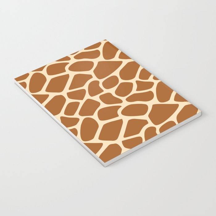 Giraffe Animal Print Pattern Notebook