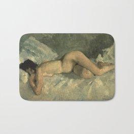 George Hendrik Breitner - Reclining nude, 1887 Bath Mat
