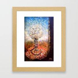 3d3n Framed Art Print