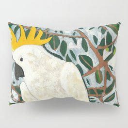Sulphur-crested Cockatoo Pillow Sham