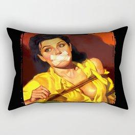 Gagged Rectangular Pillow