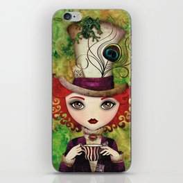 Lady Hatter iPhone Skin