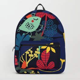 Afro Diva : Sophisticated Lady Blue Backpack