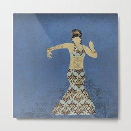 Belly dancer 4 Metal Print