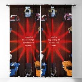 1969 Hot Wheels Redline Catalog Poster No 1 Blackout Curtain