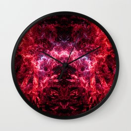 Electrocution Throne IV (Burning) Wall Clock