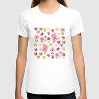 karu kara T-shirts featuring JARDIN DE L'AMOUR by Daisy Beatrice