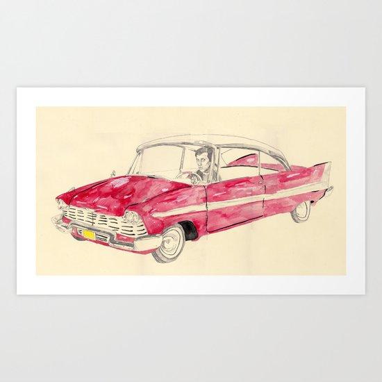 Christine  Art Print