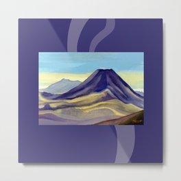 Mount Ngauruhoe Metal Print