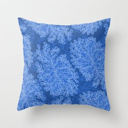 Fantasy leaves 2 Throw Pillow