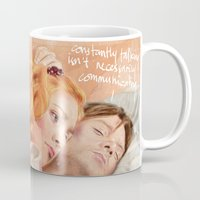 eternal sunshine Mugs featuring Eternal Sunshine of the Spotless Mind by reviandana