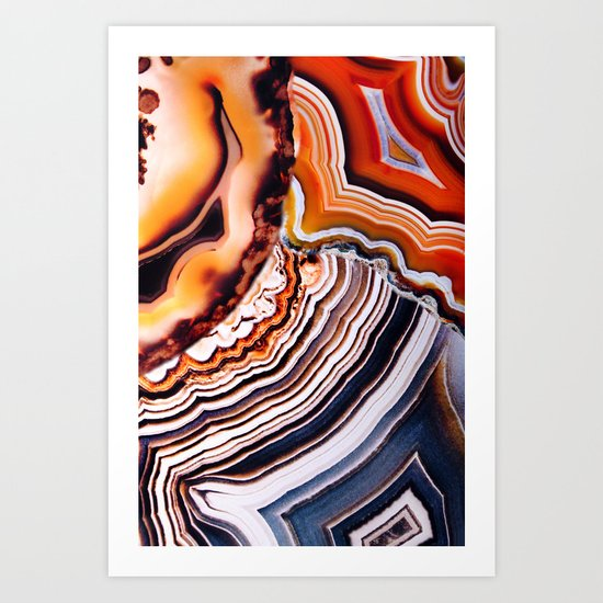The Earth and Sky teach us more Art Print
