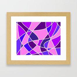 Color Flow Framed Art Print