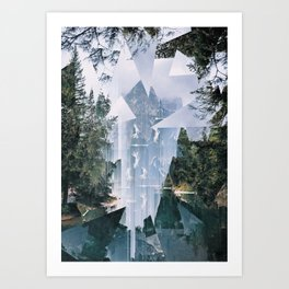 FragmentedWorld/ Art Print