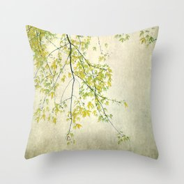 wake me up when september ends Throw Pillow