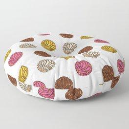 Pan Dulce (white bg) Floor Pillow