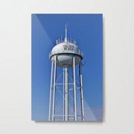 Holden Beach Water Tower Metal Print