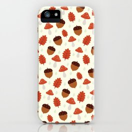 Autumn Treasures iPhone Case