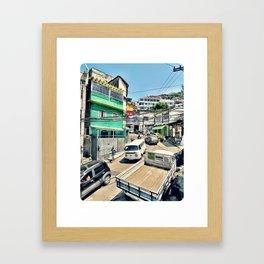 Roadside Attraction Framed Art Print