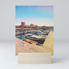 Old Town's Seaport Mini Art Print