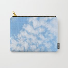 Summer Sky with fluffy clouds Carry-All Pouch
