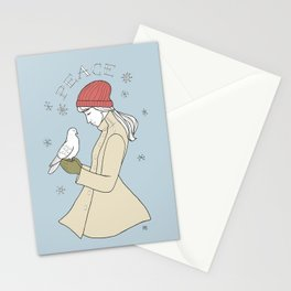 peace to you Stationery Cards