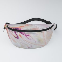 Pink Marble Fanny Pack