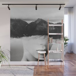 silence of the mountain Wall Mural